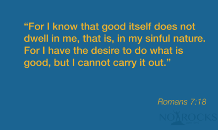 MV:Romans 7:18